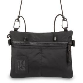 Topo Designs Carabiner Shoulder Accessory Bag, black/black